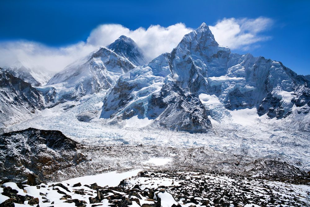 Le Mont Everest au Népal