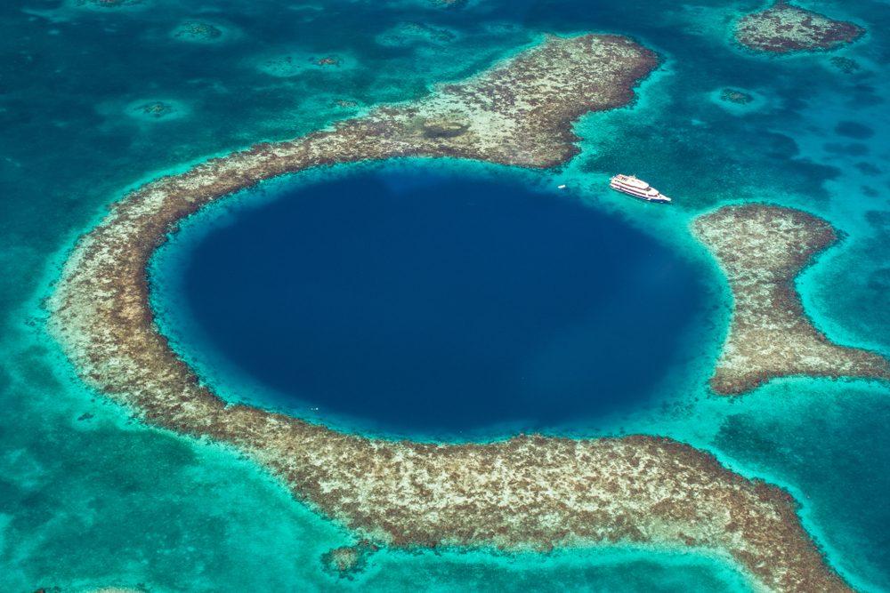 Le Grand Trou Bleu au Belize