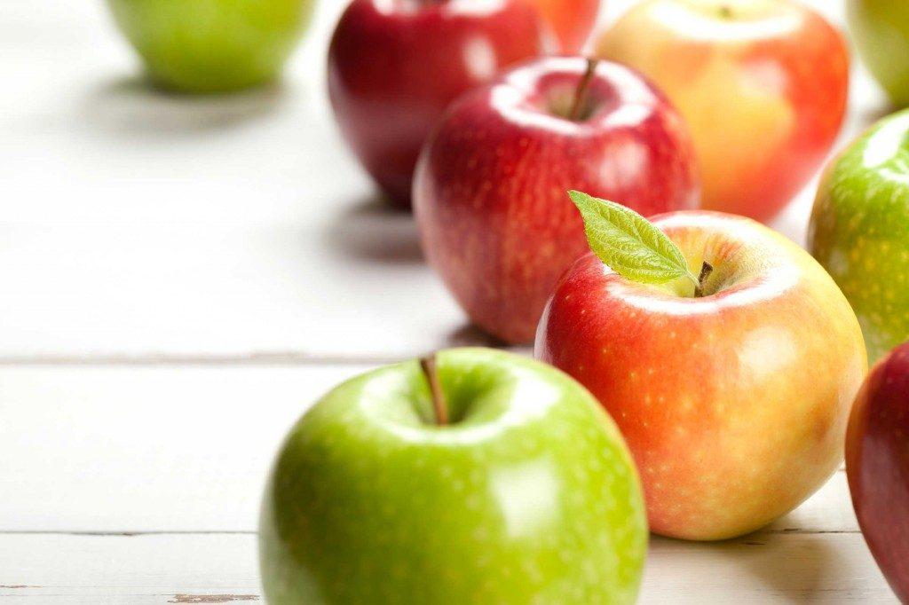 Mangez une pomme avant d'aller faire l'épicerie pour maigrir.