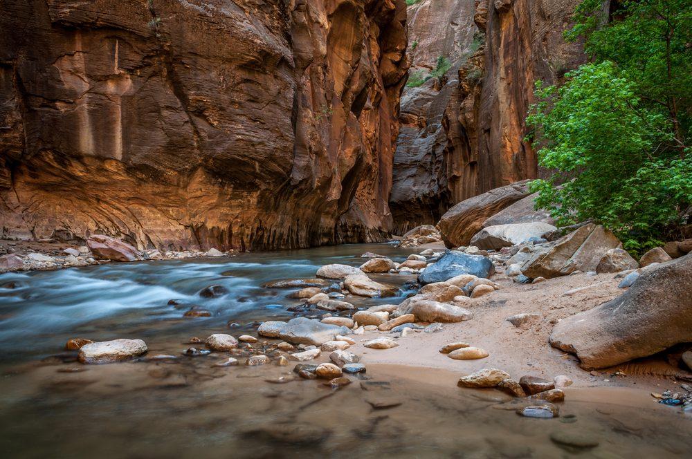 Le parc national de Zion en Utah