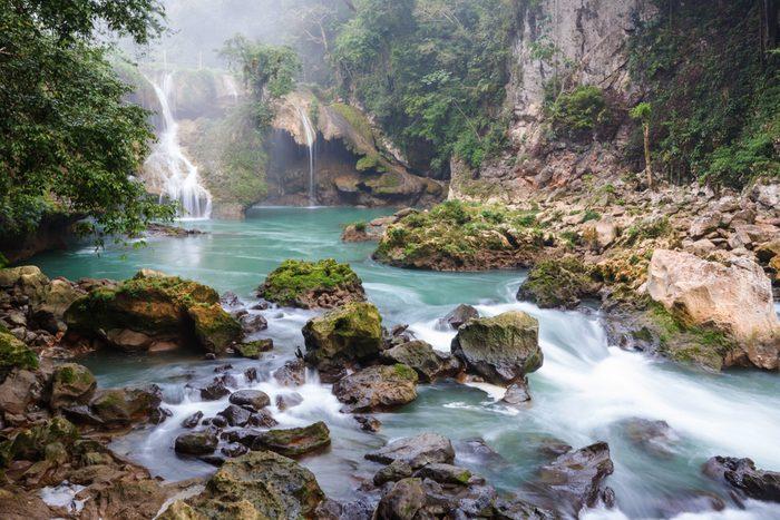 Le Semuc Champey au Guatemala