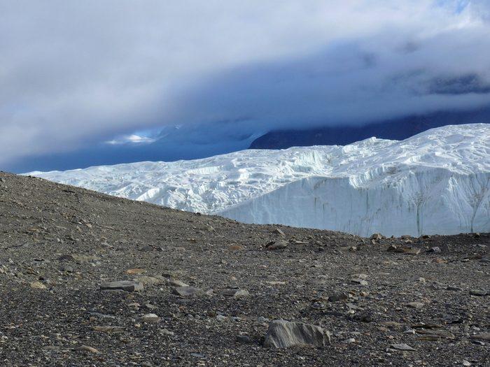 Les Blood Falls en Antarctique