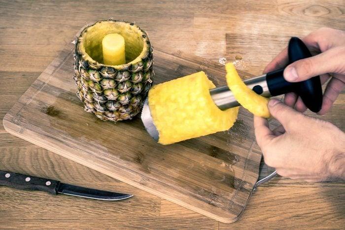 Ananas frais pour maigrir.