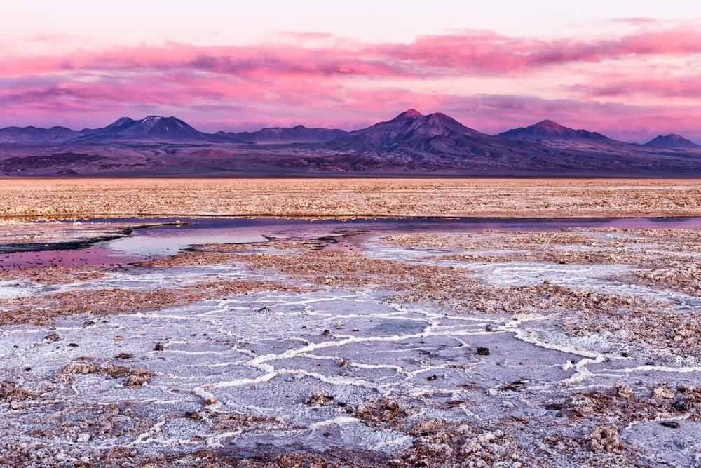 Le désert d'Atacama au Chili