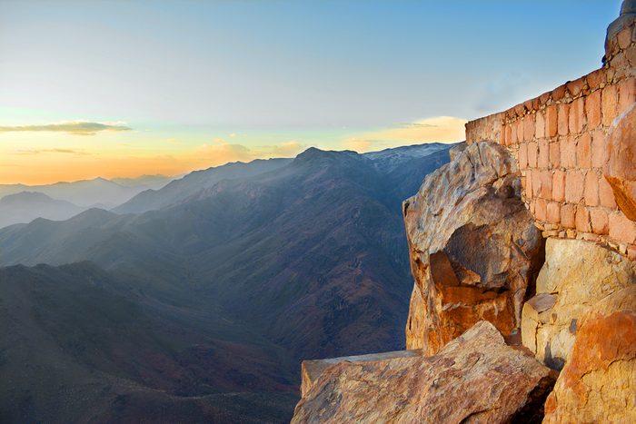 Le mont Sinaï en Égypte