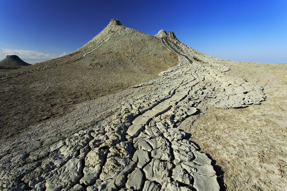 Les volcans de boue de la réserve de Gobustan en Azerbaïdjan