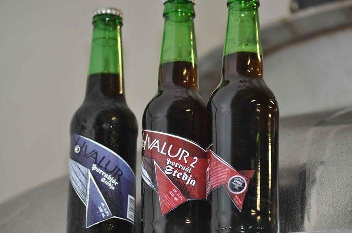 Alcool à base de testicules de baleines