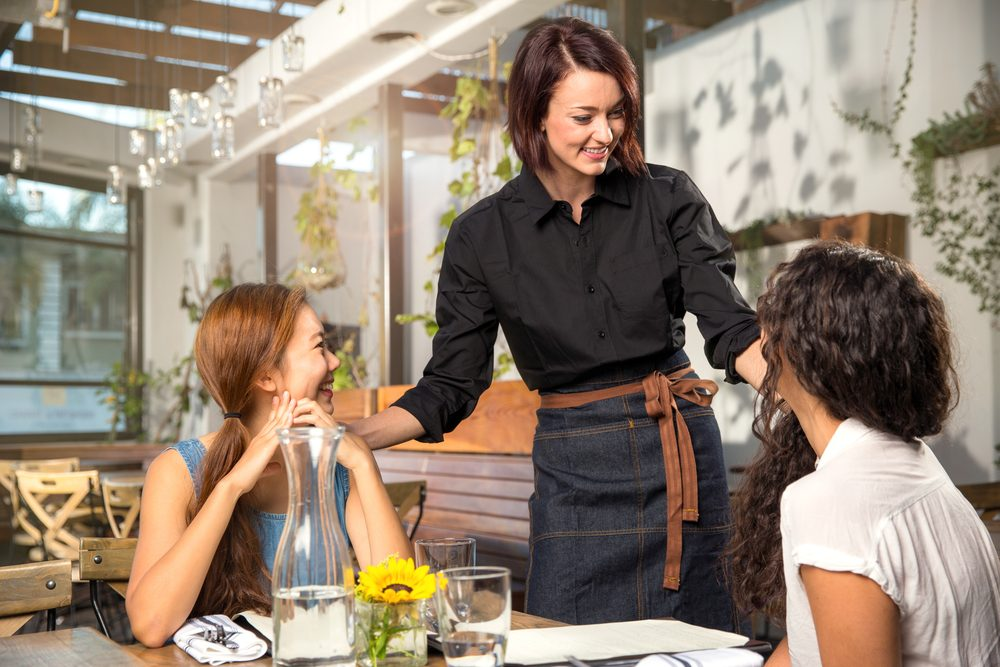 Soyez courtois au restaurant
