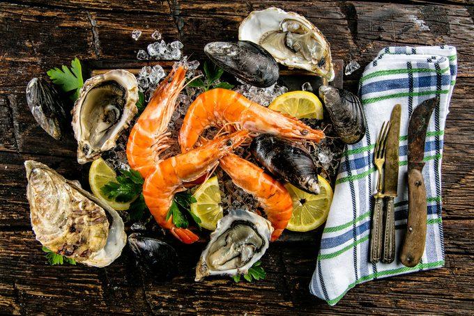 Les fruits de mer ont de nombreux bienfaits sur la santé
