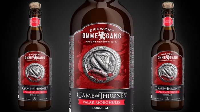 Bière de Game of Thrones.