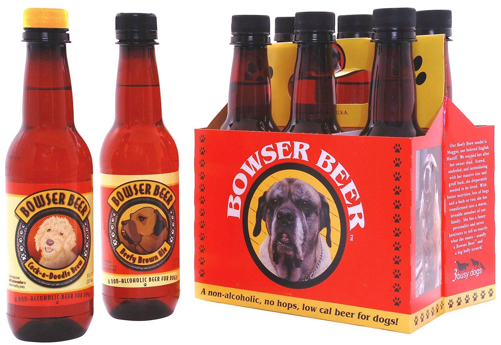 La bière pour chiens.