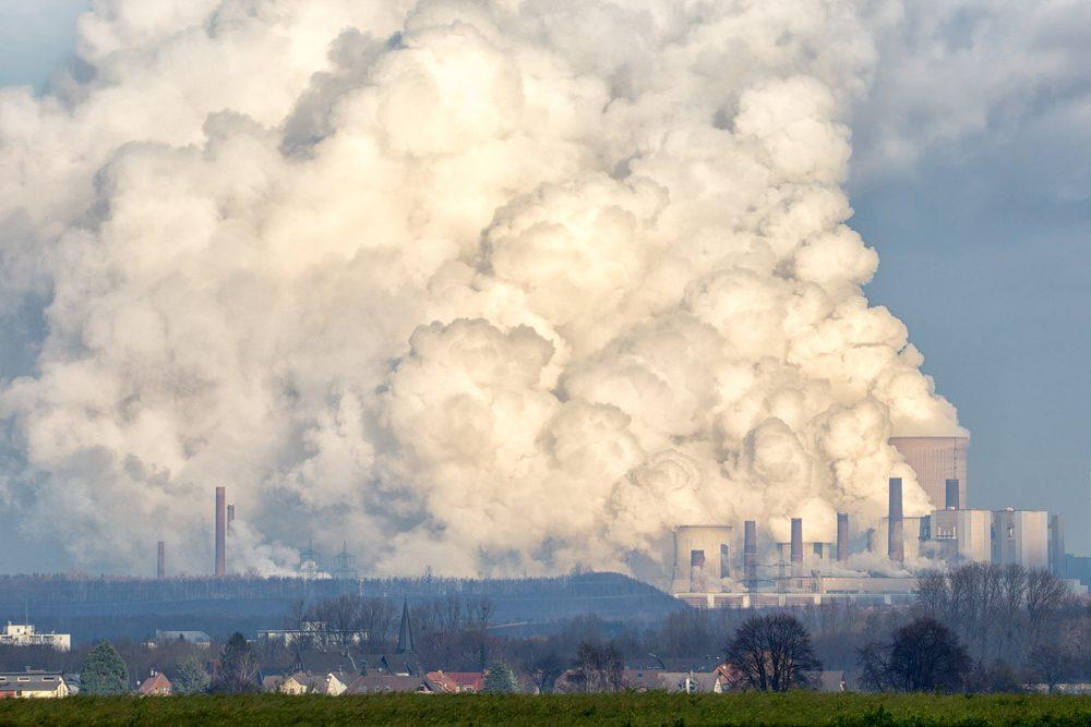 Bruderheim, ville canadienne polluée.