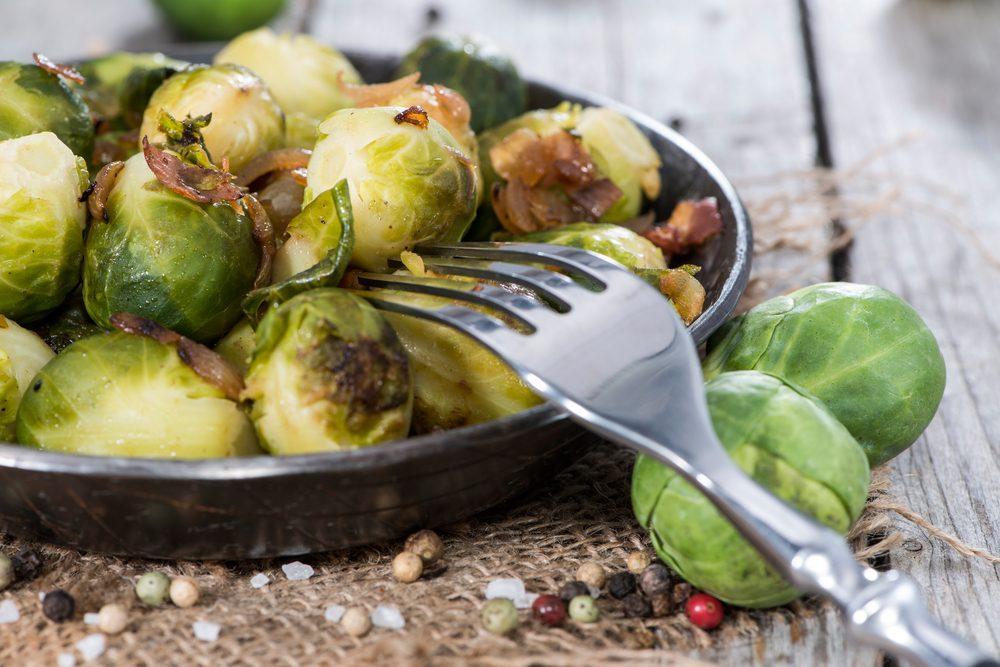 Les vertus santé du chou de Bruxelle, un légume riche en fibres