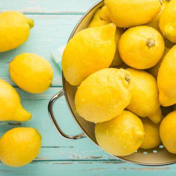 Le citron, riche en bienfaits santé