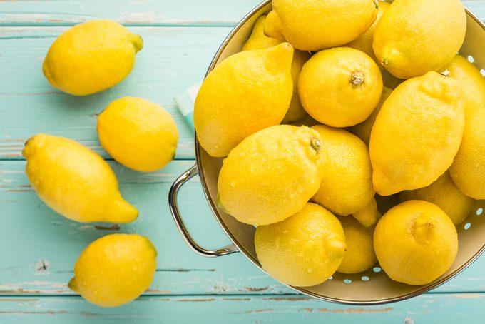Le citron regorge de Vitamine C