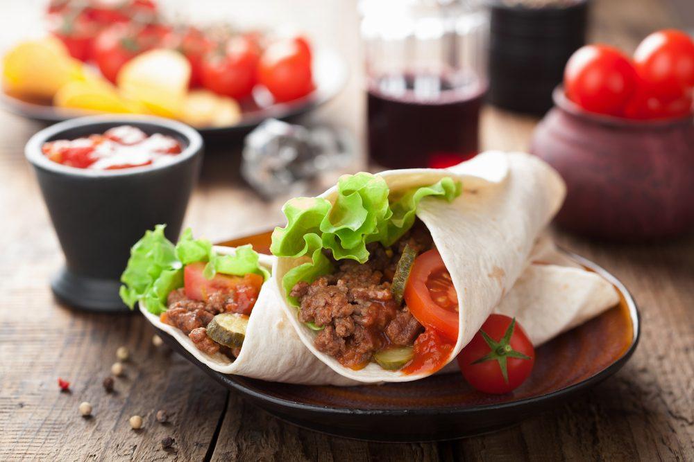 Manger santé au restaurant mexicain