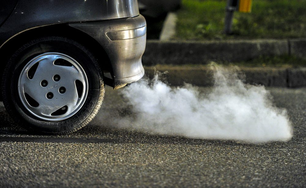 Courtenay, ville canadienne polluée.