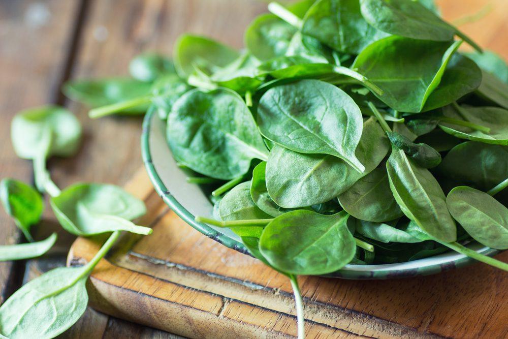 Les épinards sont un atout pour la santé