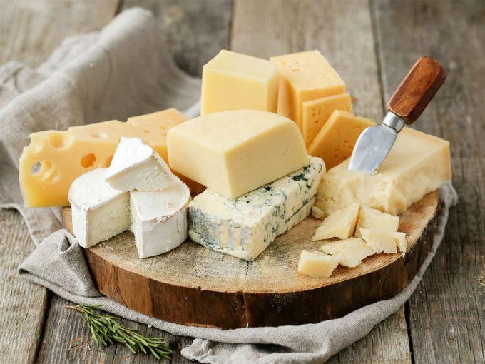 Le fromage et ses bienfaits.