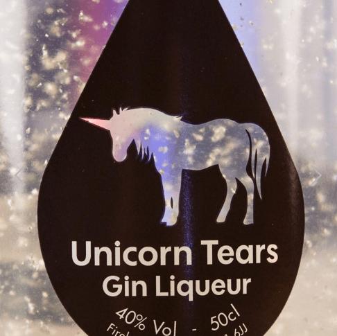 Gin de larmes de licorne.