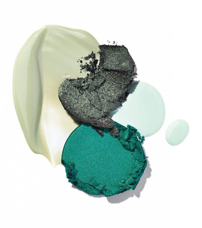 Le maquillage vert convient-il à votre teint?
