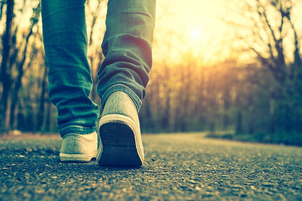 Marcher-45 minutes-maigrir-perdre du poids