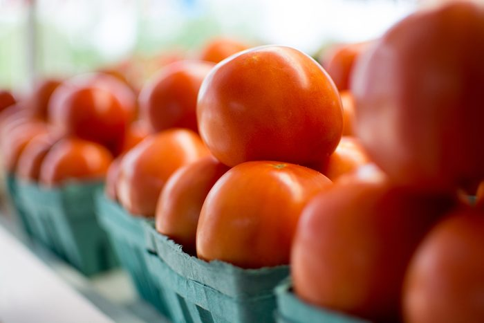 Des fruits et légumes muris à point, un autre avantage des marchés publics.