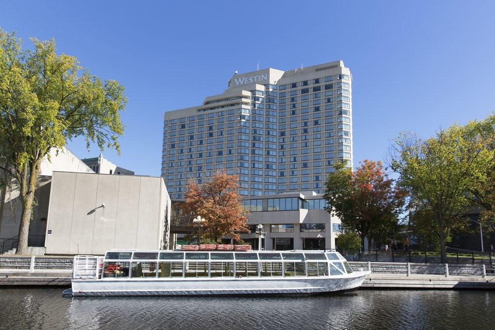 Westin, l'un des meilleurs hôtels à Ottawa pour ceux qui ont leur santé à coeur.