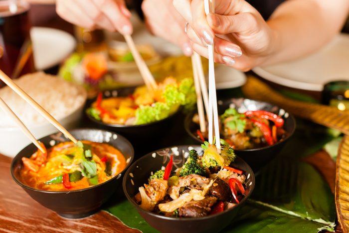 Au restaurant chinois, ne commandez pas de friture