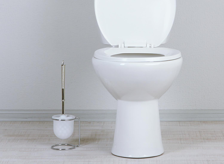Le ménage de la maison inclus aussi le manche de la brosse des toilettes.