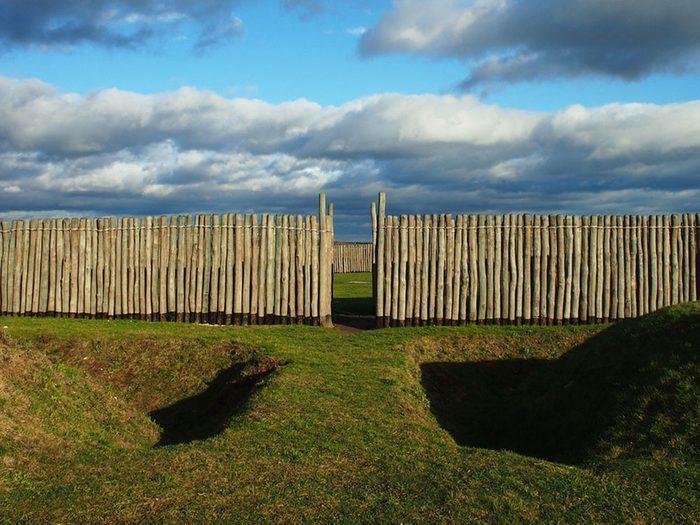 Monuments mystérieux: Cercle de Goseck en Allemagne.