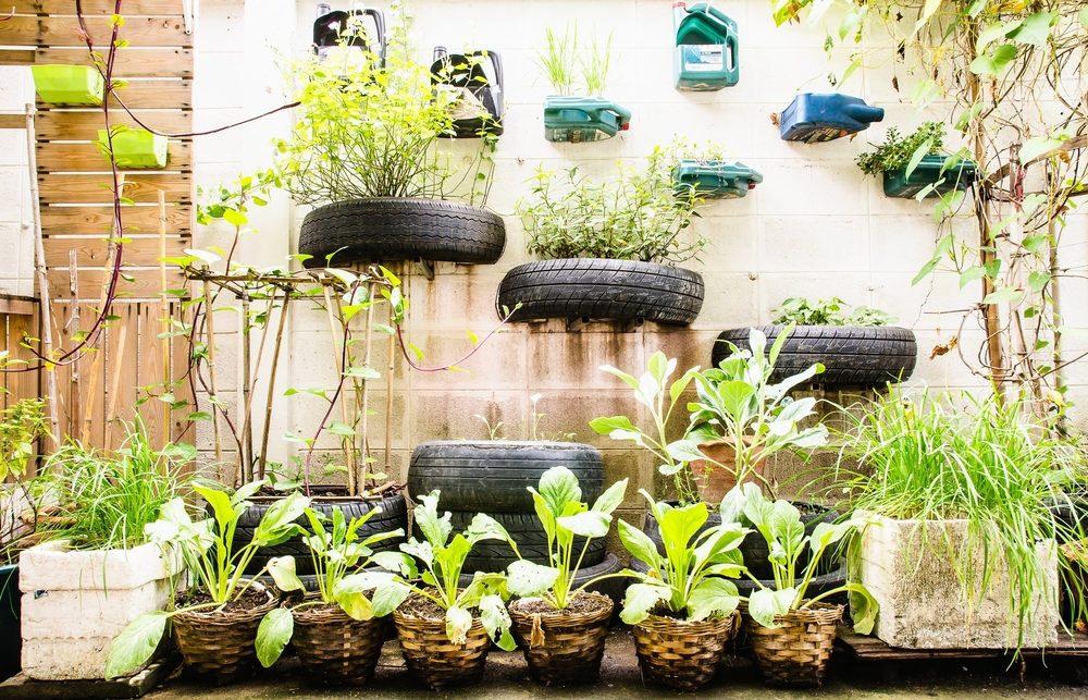 Quelques conseils pour jardiner en ville ou dans un espace restreint.