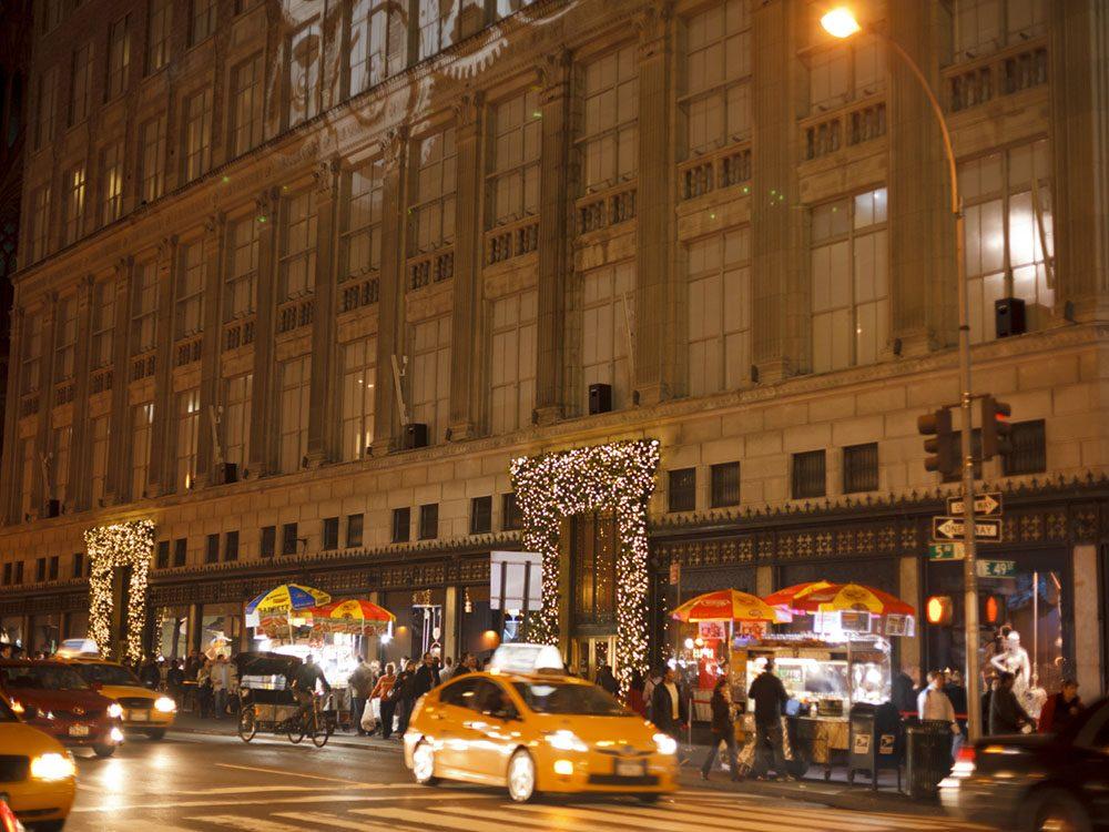 Quoi faire à new york: se promener sur la 5e avenue.