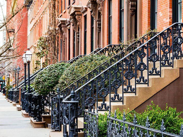 Quoi faire à new york: visiter Greenwich Village.