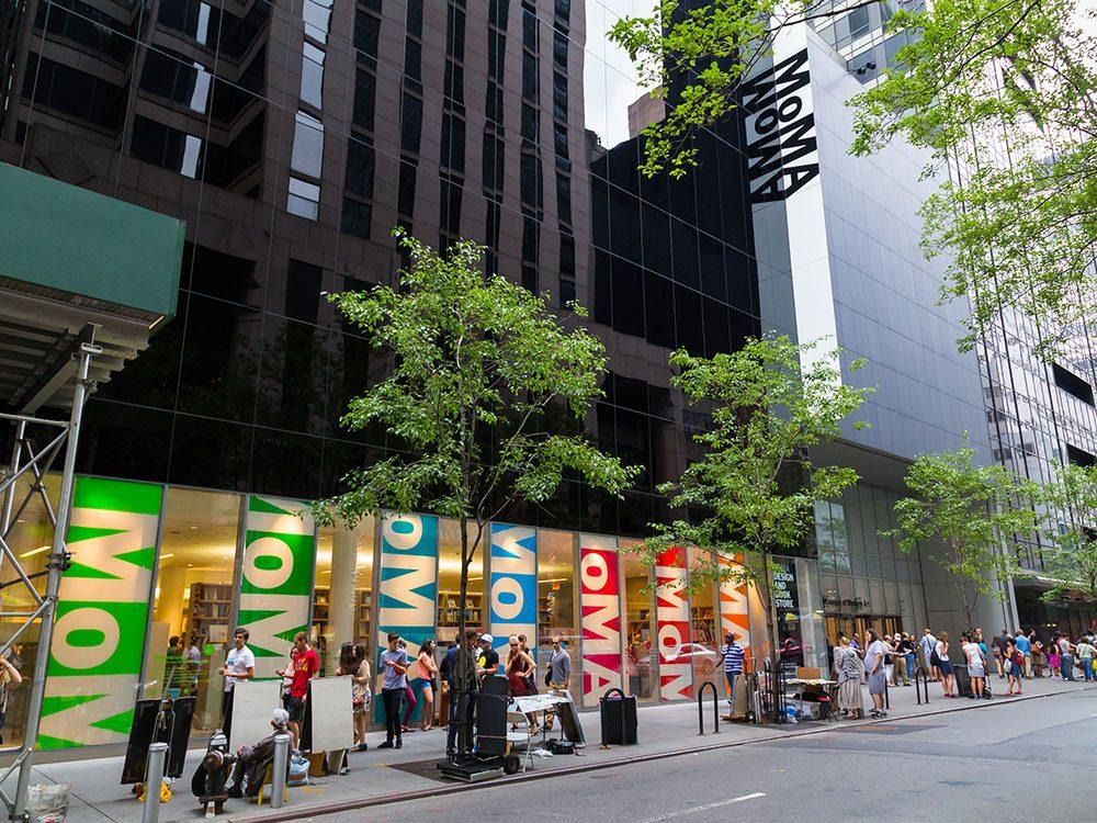 Quoi faire à new york: visiter le MoMA (Museau of Modern Art).