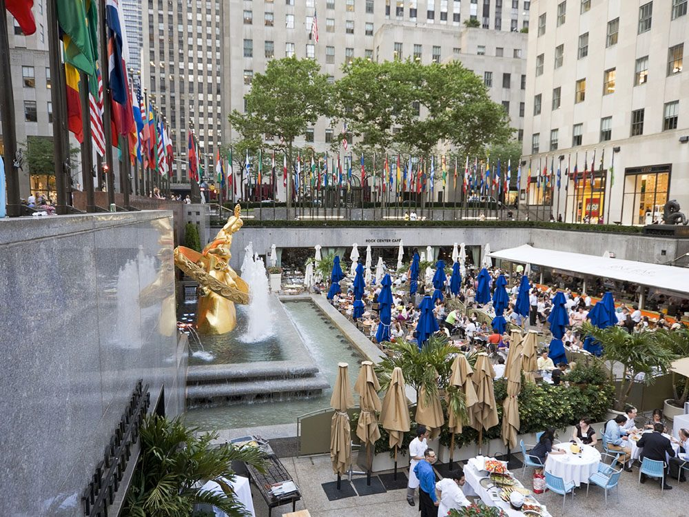 Quoi faire à new york: visiter le Rockerfeller Center.