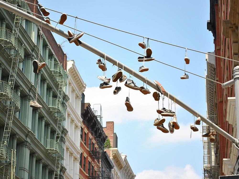 Quoi faire à new york: magasiner dans le quartier Soho.