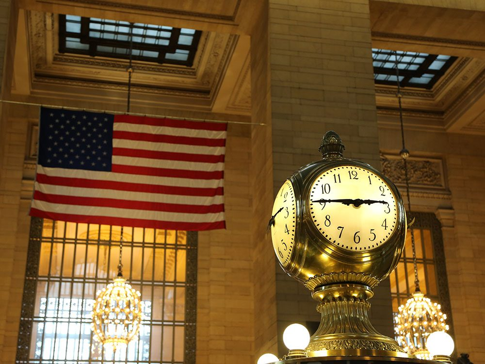 Quoi faire à new york: visiter le Terminal de Grand Central.