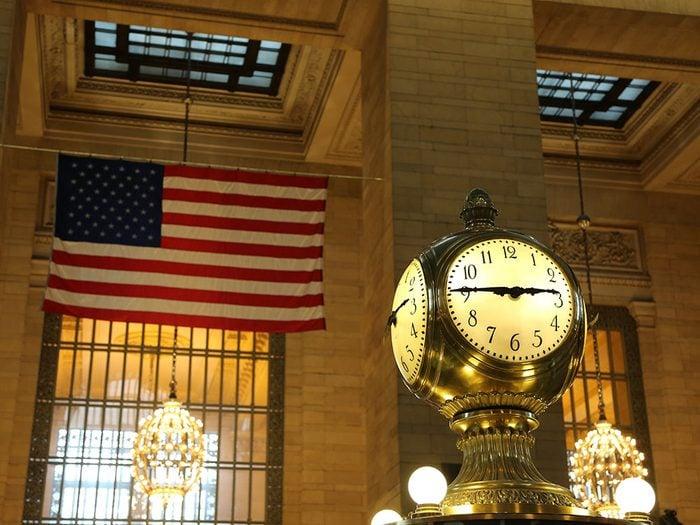 Quoi faire à new york: visiter le Terminal de Grand Central.