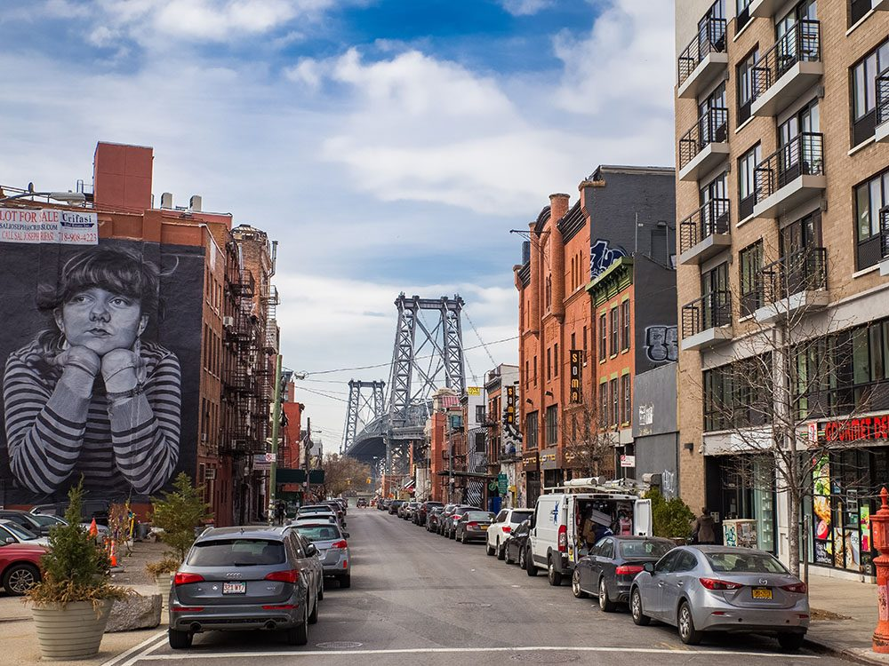 Quoi faire à new york: visiter le quartier Williamsburg.