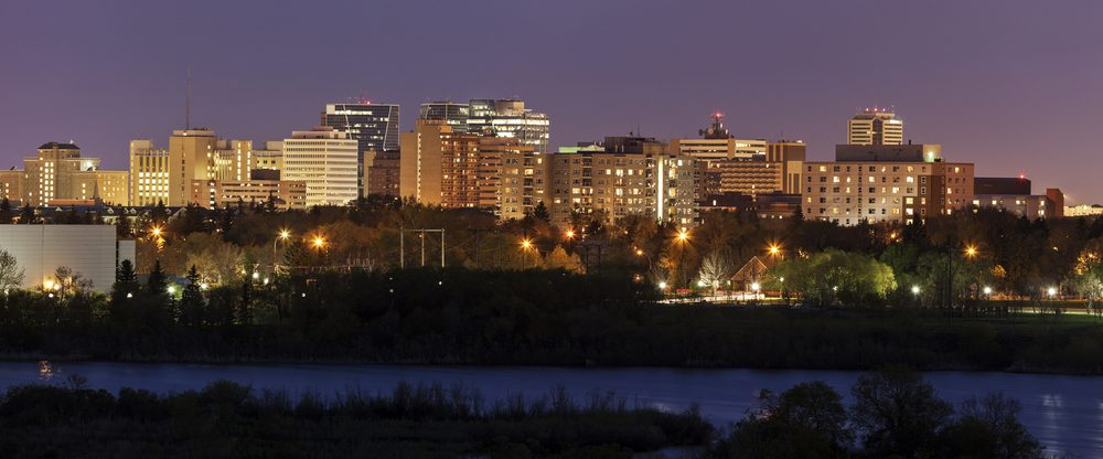 Regina, une ville polluée au Canada.
