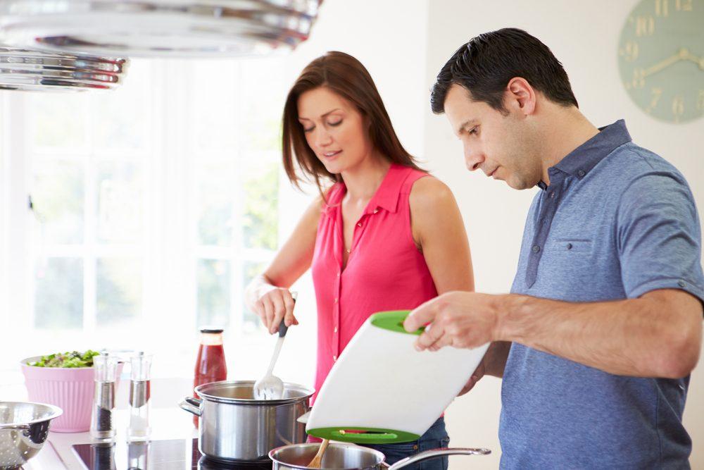 repas à la maison-maigrir-perdre du poids-alimentation