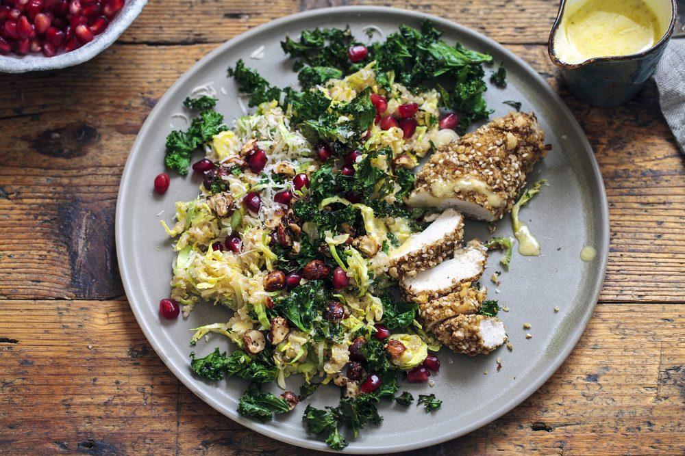 Optez pour des repas riches en protéines, avec des légumes et glucides pour vous énergiser tout au long de la journée.