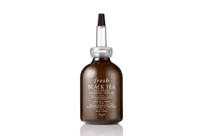 Un produit de beauté insolite à base de thé noir.