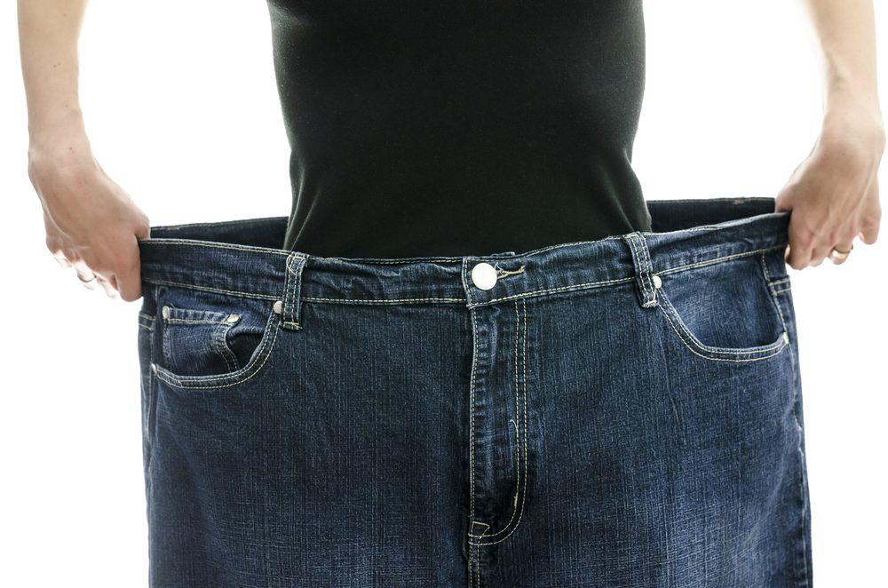 vêtements trop grands-alimentation-maigrir-perdre du poids