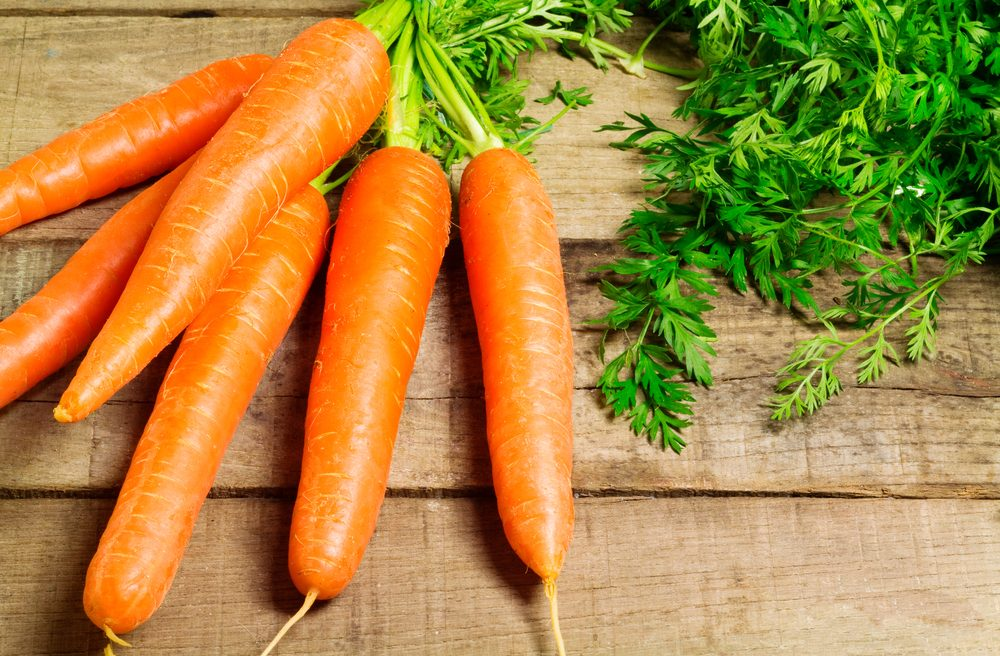 The different virtues of carrots