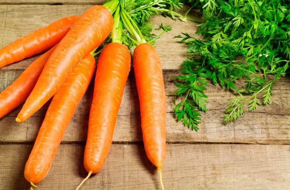Les différentes vertus de la carotte