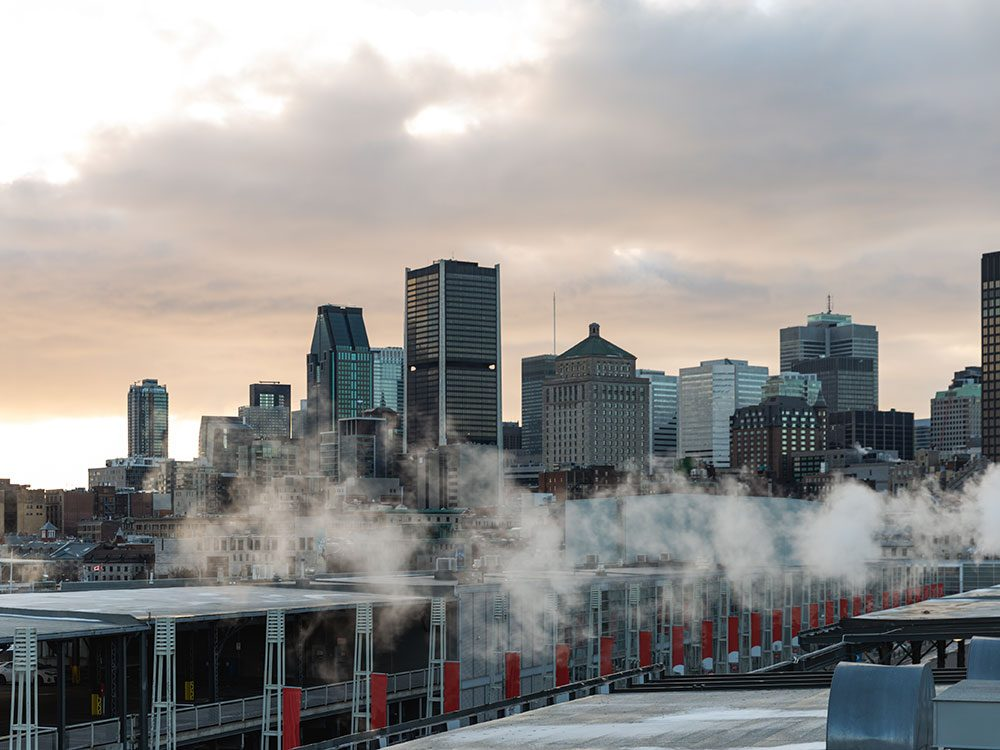 Montréal est l'une des villes les plus polluées du Canada.