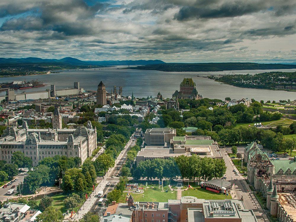 La ville de Québec est l'une des villes les plus polluées du Canada.