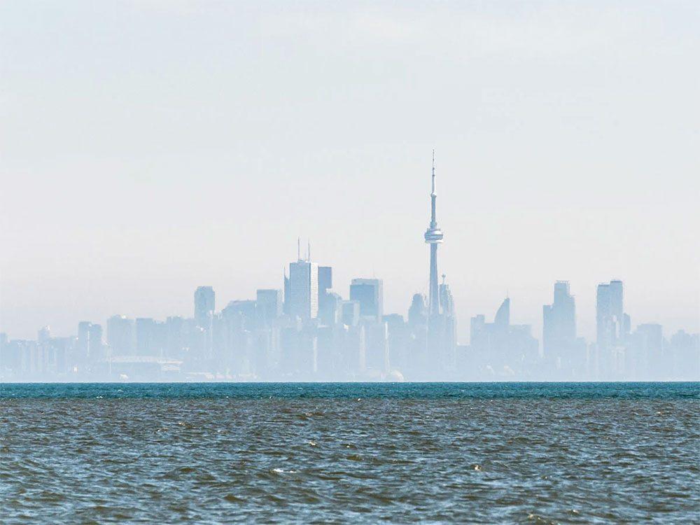 Toronto est l'une des villes les plus polluées du Canada.